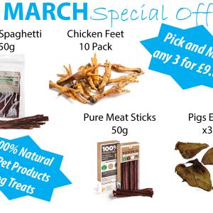 LIVforPETS Shop - March Special Offer